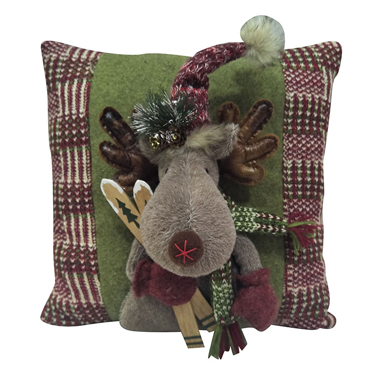 Christmas Reindeer Sofa Pillow