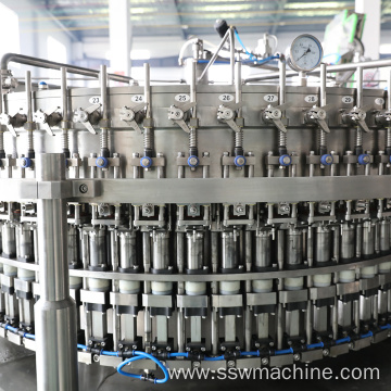 Carbonated Soft Drinks Filling Bottling Plant