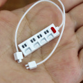 1PCS 1:12 Scale Miniature Dollhouse Socket Charging Cable for Mini Mobile Phone Model Barbies Doll House Decoration Accessories