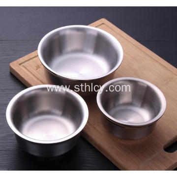 304 Stainless Steel Bowl Soup Bowls