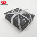 Black matte latest perfume gift paper box