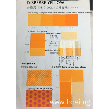 Disperse polyester dye  disperse yellow SYW-3R 200%