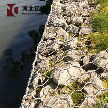 Anping factory price stainless steel welded gabion mesh