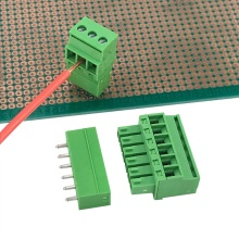 PCB top screws vertical pluggable terminal block connector