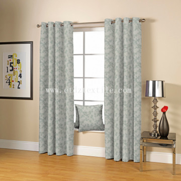 2017 New 100% Polyester Jacquard Window Curtain