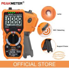 Digital Multimeter PEAKMETER PM18C True RMS AC/DC Voltage Resistance Meter Capacitance Frequency Temperature NCV Tester