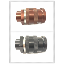 Brown FF0B Female ISO16028 Quick Coupling