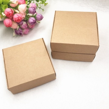 packaging box with window 30 ml glass bottle packaging box