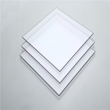 4mm glossy clear window panel polycarbonate sheet