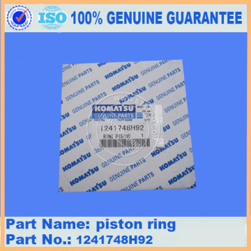 Piston ring 1241748H92 PC300-7 for engine parts
