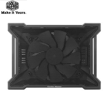 Cooler Master X120 Ultra-Slim Non-slip Laptop Cooling Pad 200mm Silent Big Fan Notebook Cooler Base For Laptop 0-15''