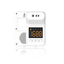 Non contact digital white color infrared counter device with english Voice reminder temperature outdoor or indoors 2020 hot sale