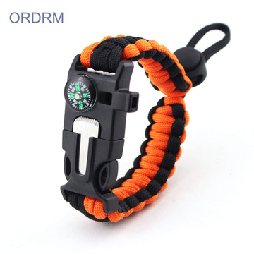 Custom Mens 2 Color Paracord Bracelet
