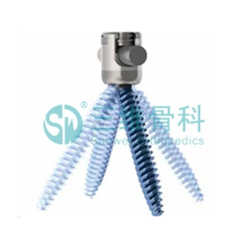 Cardan pedicle screw of orthopedics implant
