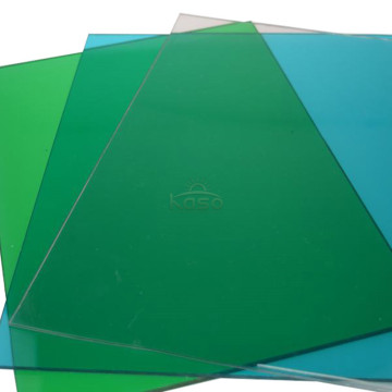 Plastic Film Material Soundproof Polycarbonate Sheet