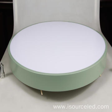 led flat panel light fixture 2700k round