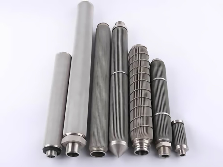 conical filter stainless steel mesh