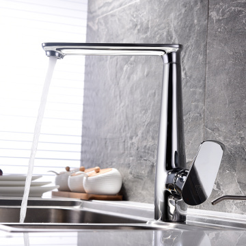 Hot And Cold Water Copper Kitchen Faucet