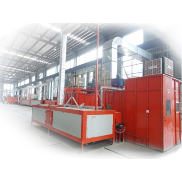 Surface Painting Production Line for kitchenware production