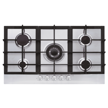 Glem Kitchen Stainless Gas Hob 900mm