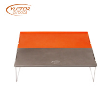 Double Color Auminum Folding Low Camping Table