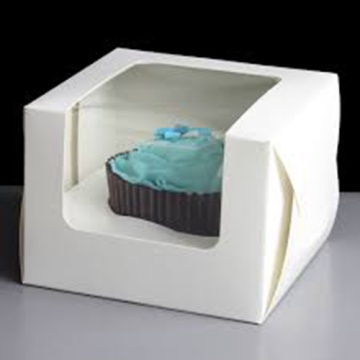 CRAFT CAKE PAPER BOX PACKAGING WITH LOGO