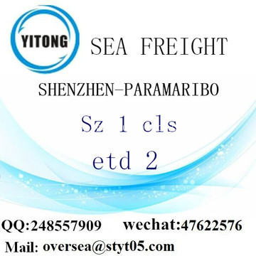 Shenzhen Port LCL Consolidation To PORT_AU_PRINCE