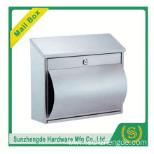 SMB-015SS modern style stainless steel free standing mailbox