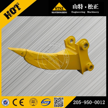 Komatsu Spare Parts PC200-7 single shank ripper 205-950-0012