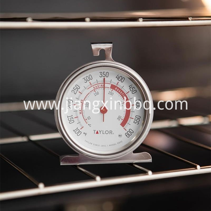 Oven thermometer view