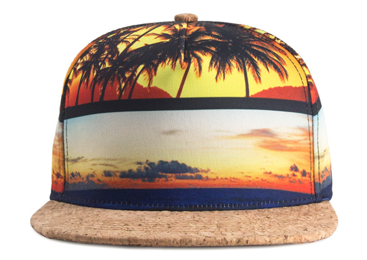 Sublimation Printing Hip Hop Cap Front