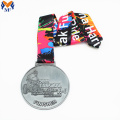Custom metal bicycle finsher medal