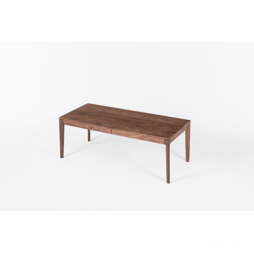 FAS Walnut Two Drawers Coffee Table