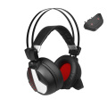 7.1 Channel LED 2.4Ghz Wireless Permainan Headset