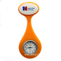 Multicolor Useful Nurse Silicone Brooch Pocket Watch