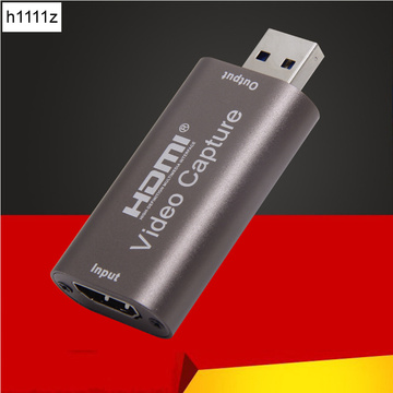 NEW Mini HD 1080P 60fps HDMI to USB Video Capture Card Game Recording Box for Computer Youtube OBS Etc. Live Streaming Broadcast