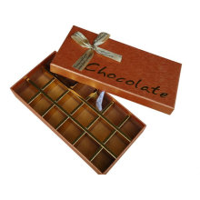 Chocolate Candy Gift Boxes With Ribbon Bow