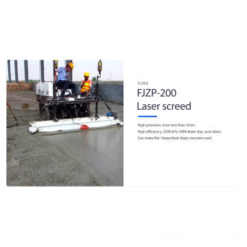 Laser screed concrete flooring laser screeding machine FJZP-200