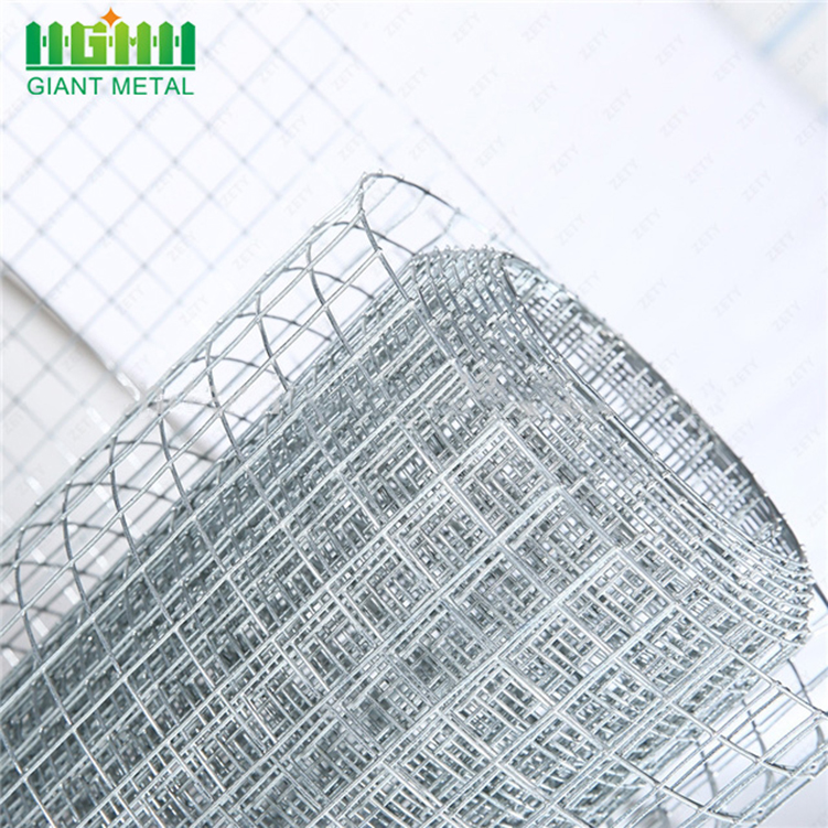 Square Hole Galvanized Welded Wire Mesh