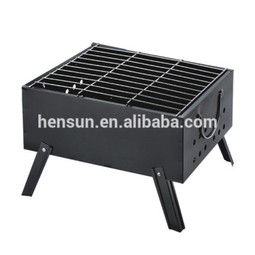 Mini Portable Square Shape BBQ Charcoal Grill