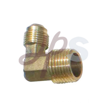 Brass male thread 90 elbow
