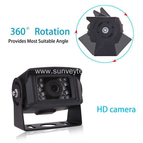 High Speed Observation System Heavy Duty Vehicle Camera and Monitor System with HD CCD Image Sensor