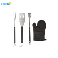 5-Piece  Apron and Utensil  BBQ Set