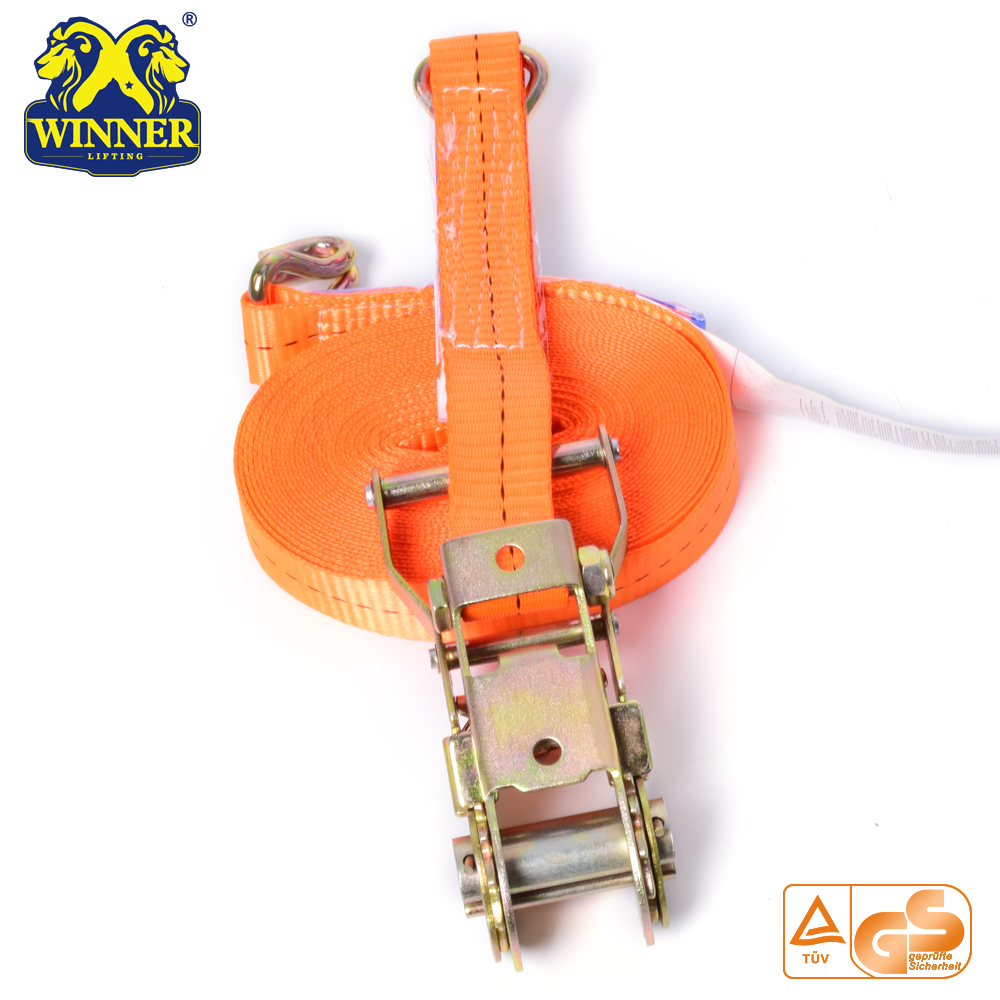 Heavy Duty Industrial Ratchet Tie Down Strap