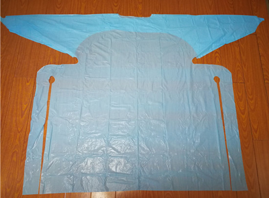 Disposable PE gown for medical