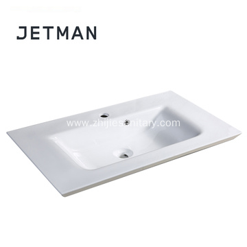 Mid-edge countertop hand wash basin
