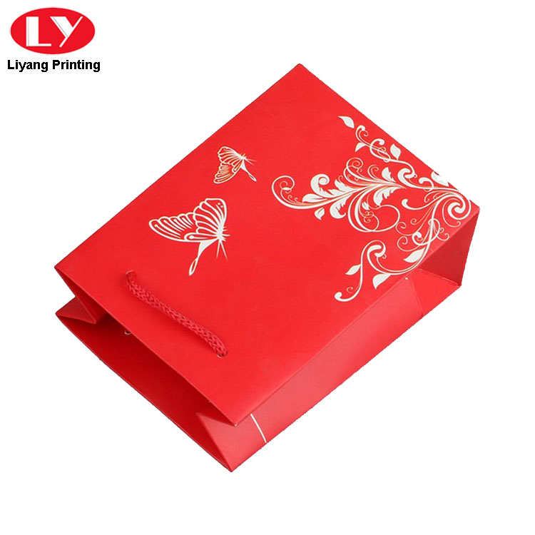 Red Bag With Handle
