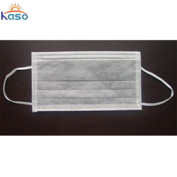 Online Wear Disposable Face Mask Blue And White