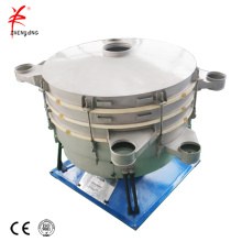 Assemble structure powder circular tumbler sieving machine