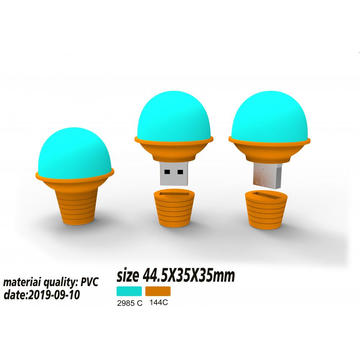 Custom Icecream USB Flash Drive 3D